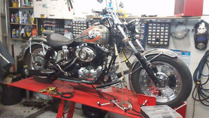 Harley iron head 1000cc 1975