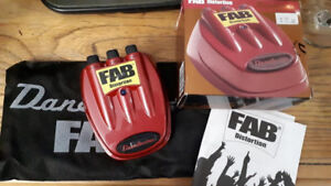 FAB Distortion Pedal