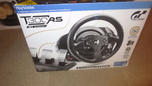 New Trustmaster T300 RS GT Edition PS4 Steering Wheel