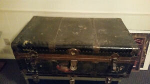 Vintage Metal Trunk/Chest