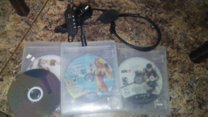 Ps3 Games & Headphone