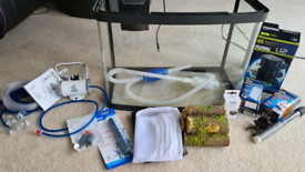 40l Fish Tank with Filter, Heater and Accessories