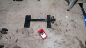 car hitch for trailer with hardware - universal - was on bmw e46