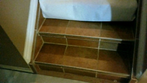 200sqft..Quality Ceramic tiles, wet cuter, slide cuter included.