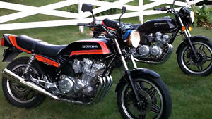 1981 Honda CB750 Frame and parts