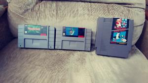 3 NES/SNES Games