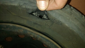 Bad luck - 2 tires/1 spare blown LF 1or2 185/65R14