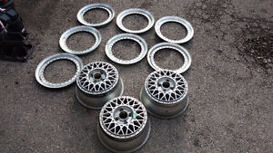 3x BBS RM012 Wheels, Lips & Other