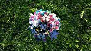 Origami paper bouquet Kitchener / Waterloo Kitchener Area image 2