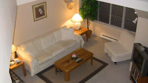 Beautiful, two level, sought after 1 bdrm apt in heart of RMD