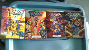 Marvel DVD comic book collection X-men, Volumes 1-4. like new