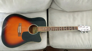 TRADITION ACOUSTIC ELECTRIC CUTAWAY GUITAR