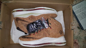 NIKE LEBRON X CORK DS BRAND NEW