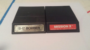 B-17 bomber and Mission X Intellivision