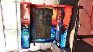 Custom Bench top Arcade Machine 645 games