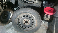 """185/70R14 14"""" Rims and Winter Tires"""