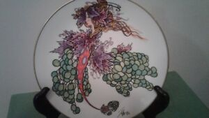 'Winged Fantasies Collector plate'   design by Toller Cranston