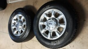 "20"" Ford F350 Rims"