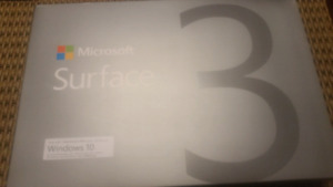 Microsofr Surface 3  64 Gb Ssd 2 Gb Ram