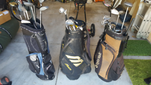 Various bags and clubs cheap