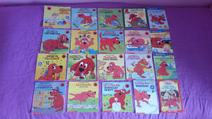 20 Clifford the Big Red Books