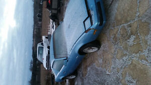 Project car 83 firebird and 89 fire bird parts car