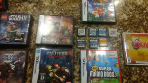 3ds and DS games plus system