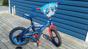 "14"" Kids' Avengers Bicycle - nearly new"