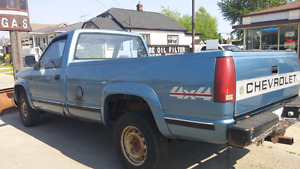 Chevrolet or GMC 8 ft truck box