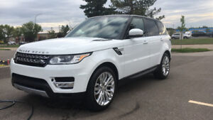 2015 Land Rover Range Rover Sport HSE SUV, Crossover