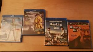 Breaking Bad Blu rays, Season 1-4 for sale
