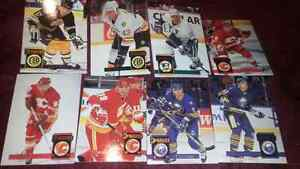 93-94 Hockey DonRuss Hockey card set.