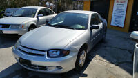 2005 Chevrolet Cavalier Coupe Cert and E-tested 100% Approval!