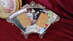 Victorian Picture frame mirror and silver. Kitchener / Waterloo Kitchener Area image 1