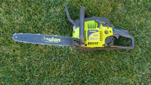 14 in Poulan 33cc chainsaw