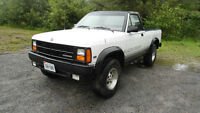 1989 Dodge Dakota CONVERTIBLE 4x4 rare