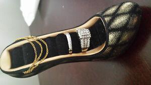 high heel shoe ring holder