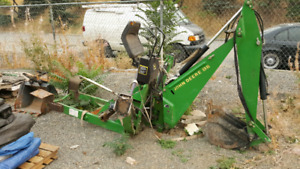 John Deere 8B backhoe attachment