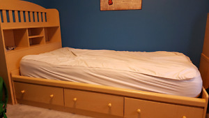 Twin Size Mates Bed