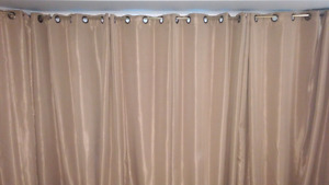 Taupe curtains - Ellery Homestyles