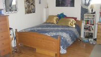 1 rm in 2 bdrm basement apartment beginning in July Keele/Finch
