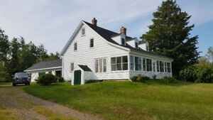 Lovely Farmhouse for Rent in Kentville