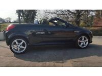 2008 VAUXHALL TIGRA 1.4 CONVERTIBLE IN METALLIC BLACK FOR SALE AT £1595 OVNO
