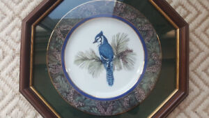 Whispering Pines - Blue Jay Collector Plate