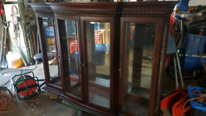 Gorgeous 2 Piece China Cabinet