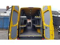2012 Mercedes-Benz Sprinter 313 Cdi Lwb 4.3 Meter Van,ONLY 58000 Miles,Shelved,
