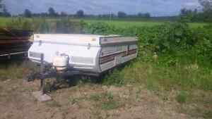 PARTING OUT older tent trailer