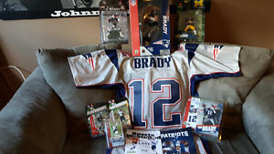 Collection of Tom Brady New England Patriots