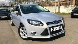 2014 Ford Focus 1.6 Zetec Navigator 5dr Manual Petrol Hatchback