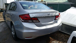 2015 Honda Civic LX Sedan (Salvageable)/Parts included